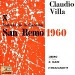 San Remo 1960, Claudio Villa