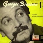 Le Parapluie, Georges Brassens
