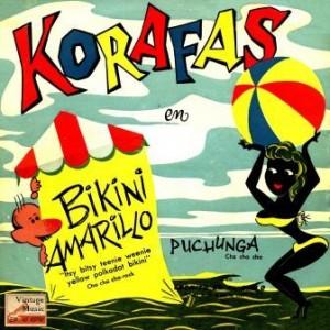 Bikini Amarillo, Korafas