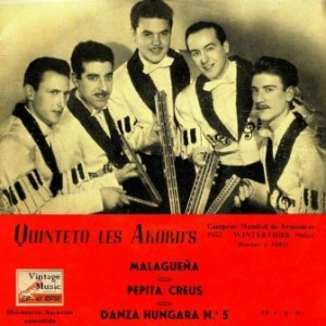 Harmonic World Champions (Winterthur 1955), Quinteto Les Akord's
