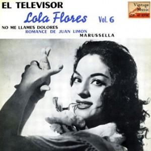 El Televisor, Lola Flores