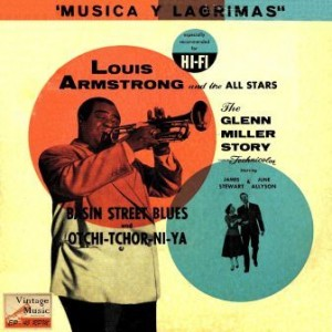 The Glenn Miller Story, Louis Armstrong