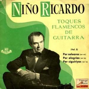 Toques Flamencos De Guitarra, Niño Ricardo