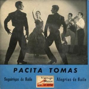 Seguiriyas de Baile, Pacita Tomas