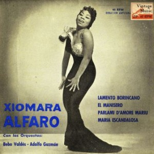 Lamento Borincano, Xiomara Alfaro