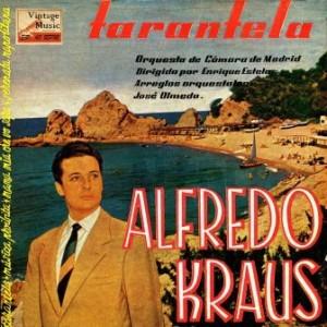 Tarantela, Alfredo Kraus