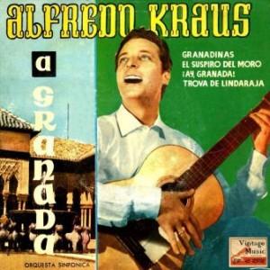 Leyendas De La Alhambra, Alfredo Kraus