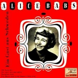 Ein Gast Aus Scheweden, Alice Babs