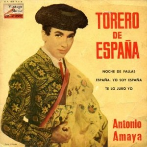 Torero De España, Antonio Amaya