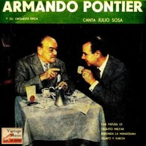 Canta Julio Sosa, Armando Pontier