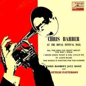 At The Royal Festival Hall, Chris Barber