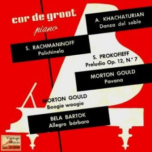 Sabre Dance, Piano, Cor De Groot