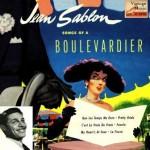 Songs Of A Boulevardier, Jean Sablon