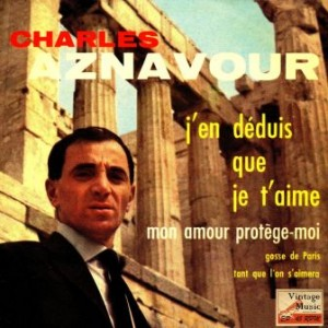 Mon Amour, Charles Aznavour