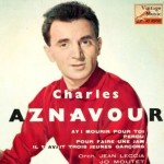 Mourir Pour Toi, Charles Aznavour