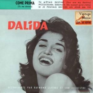Comme Prima, Dalida