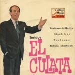 """Lo """"Mejó"""" del Mundo Entero, Enrique El Culata"""