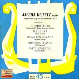 Violín And Piano, Jascha Heifetz