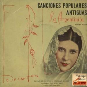 Lorca Al Piano, La Argentinita