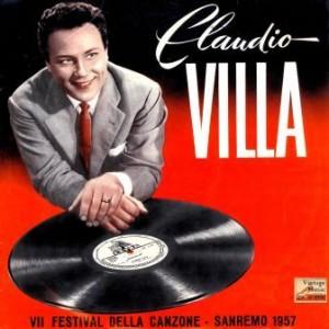 7º Festival Della Canzone San Remo 1957, Claudio Villa