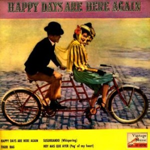 Happy Days Are Here Again, Harry Reser