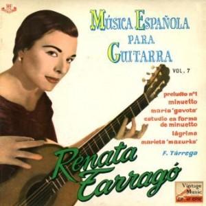 Música Española Para Guitarra, Renata Tarragó