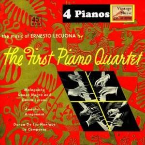 Plays Lecuona, The First Piano Quartet