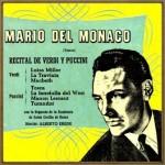 Recital de Puccini y Verdi, Mario del Monaco