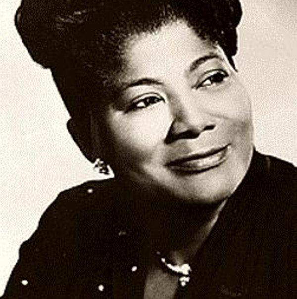 Mahalia Jackson nació en Nueva Orleans el 26 de octubre de 1911