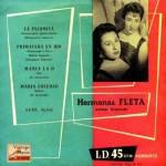 La Palomita, Hermanas Fleta