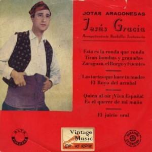 Joras Aragonesas, Jesús Gracia