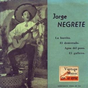 La Burrita, Jorge Negrete