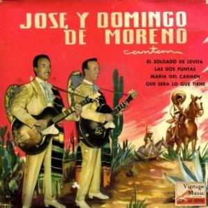 Soldado De Levita, José Y Domingo De Moreno