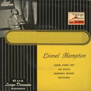 Gates, Steps Out, Lionel Hampton