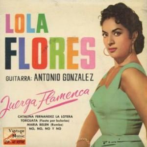Catalina Fernández «La Lotera», Lola Flores