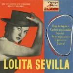 Cántame un Pasodoble Español, Lolita Sevilla