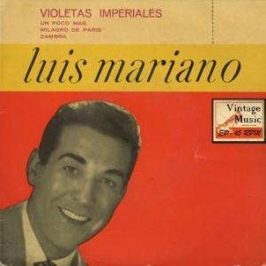 B.S.O: Violetas Imperiales, Luis Mariano