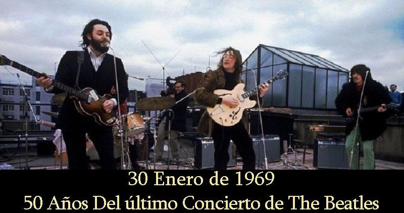 50 Años del último concierto de The Beatles