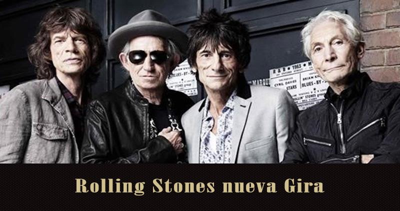The Rolling Stones de nuevo de gira