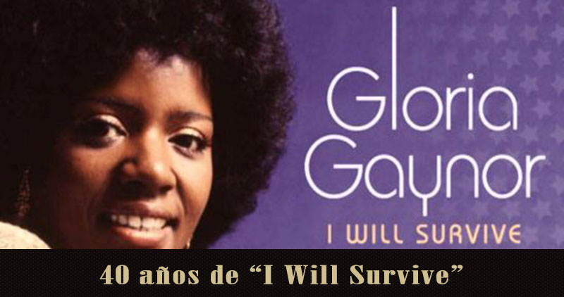 Gloria Gaynor celebrará los 40 años de 'I will survive'