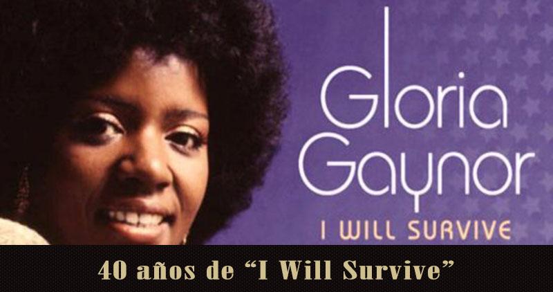 Gloria Gaynor celebrará los 40 años de 'I will survive'