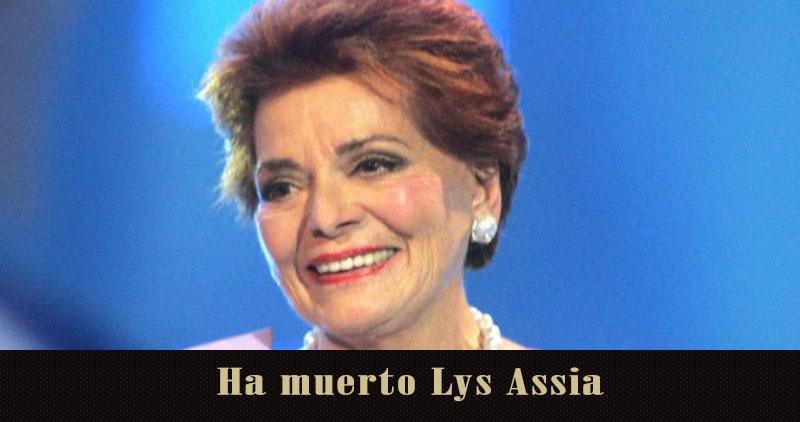 Adiós a Lys Assia, la primera ganadora de Eurovisión