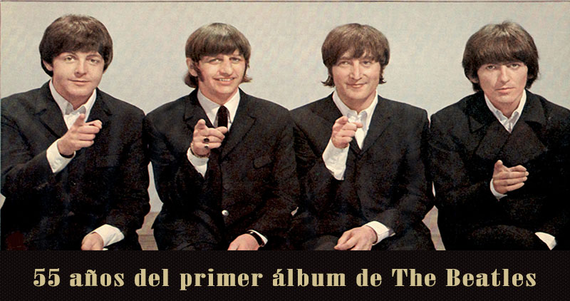 55 años del primer álbum de The Beatles