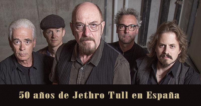 Jethro Tull, gira por su 50 aniversario en noviembre de 2018