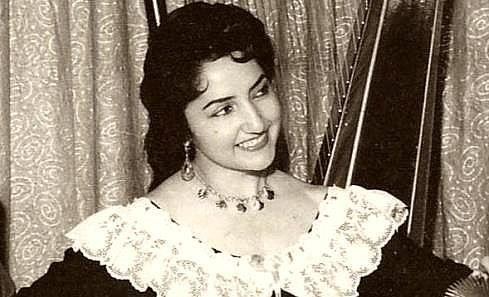 Silvia Infantas nació en Chile el 14 de junio de 1923