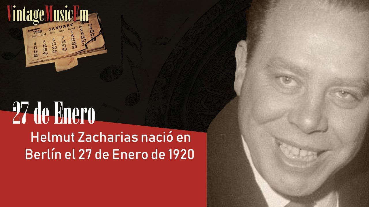 Helmut Zacharias nació en Berlín el 27 de enero de 1920