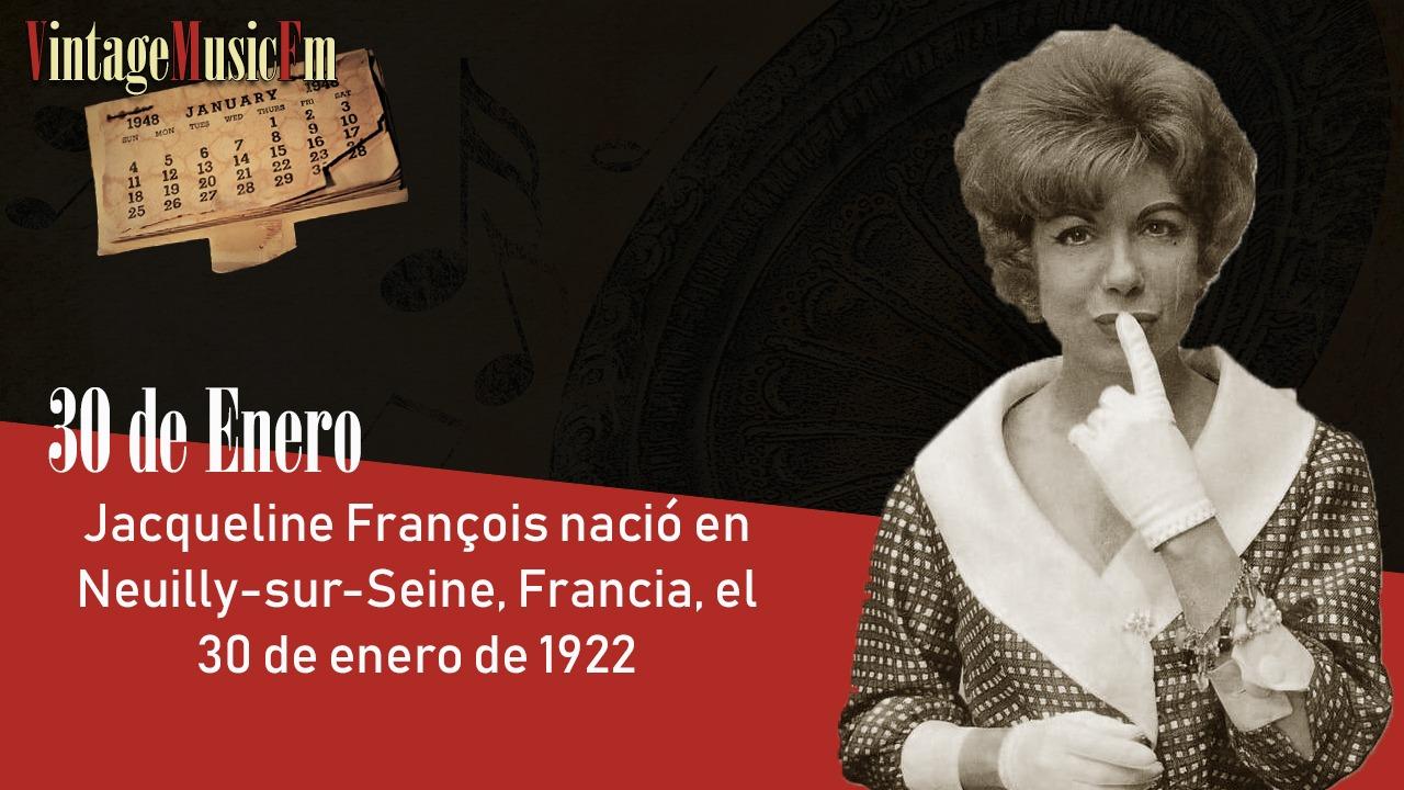 Jacqueline François nació en Neuilly-sur-Seine, Francia, el 30 de enero de 1922