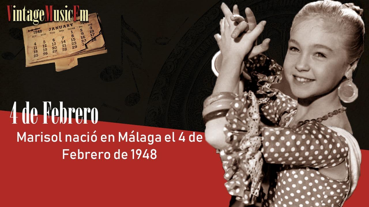 Marisol nació en Málaga, España, el 4 de febrero de 1948