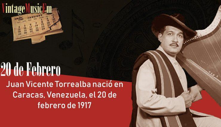 Juan Vicente Torrealba nació en Caracas, Venezuela, el 20 de febrero de 1917