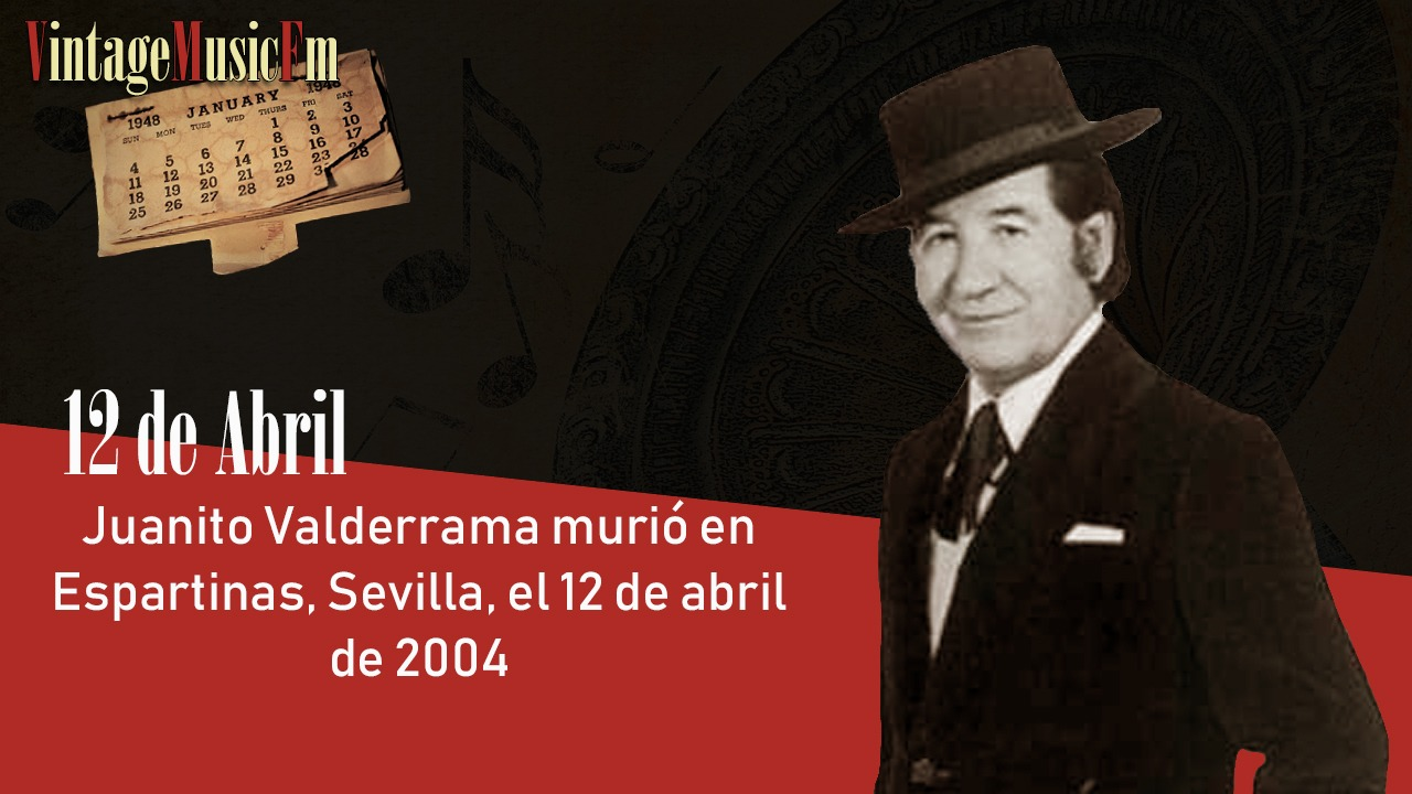 Juanito Valderrama murió en Espartinas, Sevilla, el 12 de abril de 2004